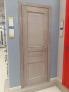 Межкомнатная дверь из массива березы Лондон-Топаз полотно глухое